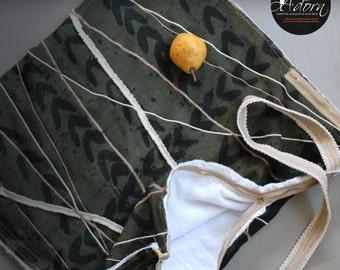 Zippered Moto Bag