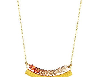 Will You Power Me Goldbar Necklace