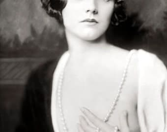 1920-'s Era Ziegfeld Follies Girl Adrienne Ames- [730-706]