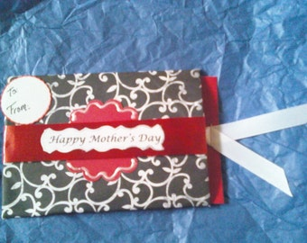 Mother's Day giftcard holder
