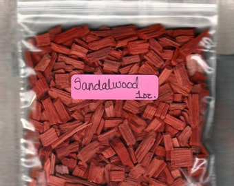 1 ounce Red Sandalwood Chips   (1 oz.)