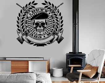 Wall Vinyl Army Soldier Honor Duty Guaranteed Quality Decal Mural Art 1661dz