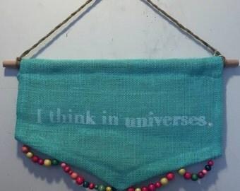 Universe Wall Banner (tea)