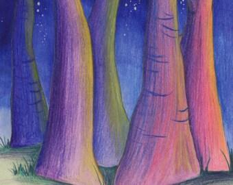 lantern trees