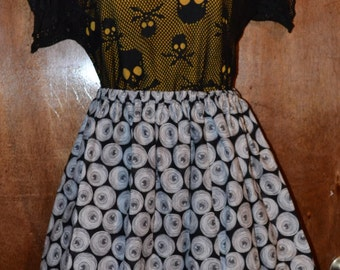 Mummied Eyeball Skirt, various sizes  Womens/misses