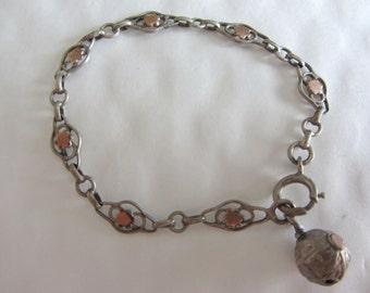 Baby silver vintage bracelet - 20586