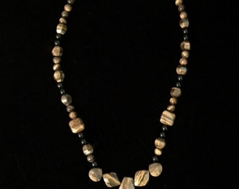 Tiger Eye Stone bead Necklace