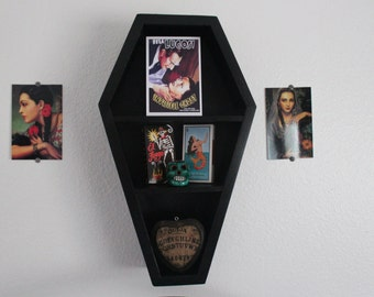 Coffin Shelf 20 inch Gothic