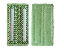 2+ Bleachable, Shammy for absorption, Durable cotton terry for scrubbing, ECO friendly reusable Swiffer WetJet wet mop pad refills