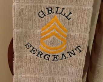 Grill Sergeant Kitchen Towel