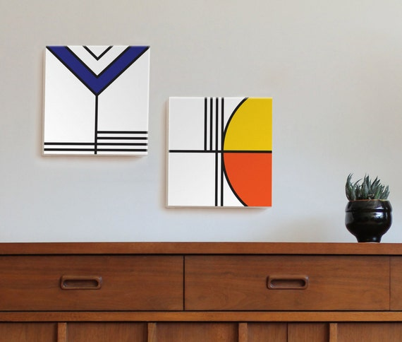 BALANCE series pair (2) canvas wall art