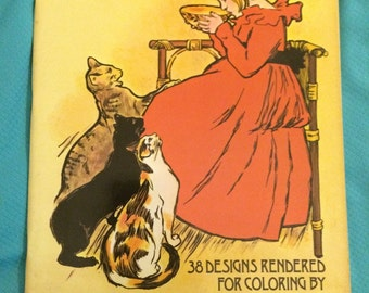 Vintage Turn of the Century Posters Coloring Book