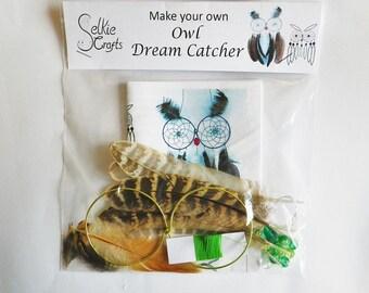 Make Your Own Owl Dream Catcher Kit