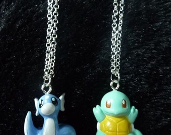Turtle necklace, dragon necklace