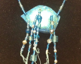 Beaded gourd necklaces