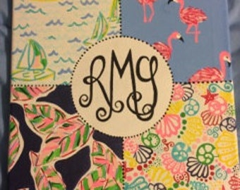 Items Similar To Lilly Pulitzer Print Canvas Duo On Etsy