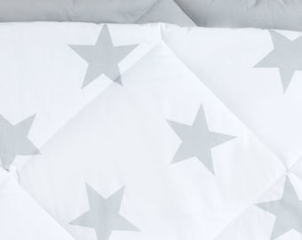 Quilted mat Teepee Bright Gray