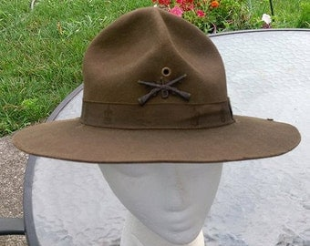 Vintage Boy Scouts of America Scoutmaster Hat
