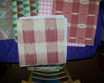 Upholstery Fabric in Pink Hues