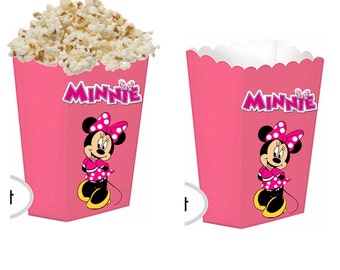 Minnie mouse treat boxes
