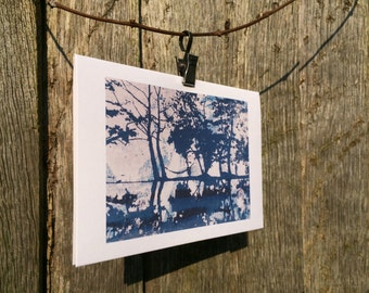 Tree Reflections Greetings Card