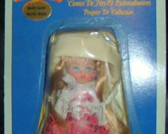 Vintage Fairytales & Fantasies MARY MARY Bookshelf Collectible Doll