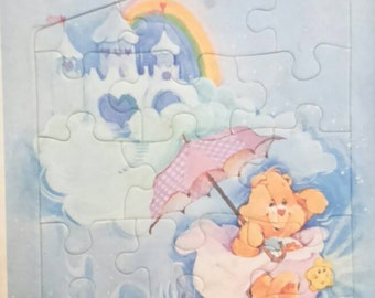 Vintage Parker CARE BEARS Frame Tray Puzzle