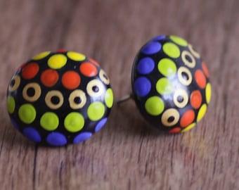 Jewellery Earrings 23 Rainbow