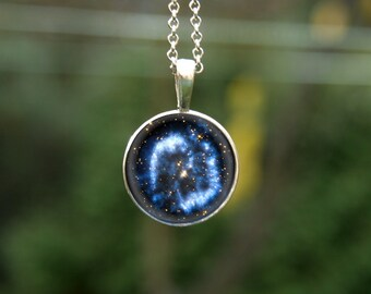 Galaxy pendant, galaxy jewelry, nebula pendant, stars pendant, nebula jewelry, cosmic pendant, interstellar pendant, galaxy necklace