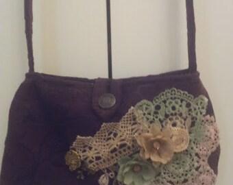 Vintage style bag. Shoulder bag