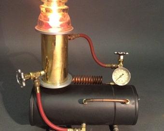 repurposed lighting. The Still - Steampunk Industrial Repurposed Light Lighting