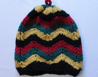 Rasta Knitted Hat