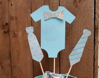 Little Man Centerpiece, Little Man Baby Shower, Baby Shower Centerpiece,  Bow Tie Decorations