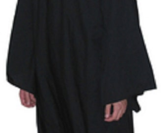 Custom Hooded Ritual Robe Wiccan Pagan Ceremonial up to size 6X--Fantasy/Druid/Magician/Witch