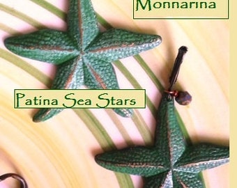 Green Patina Sea Stars