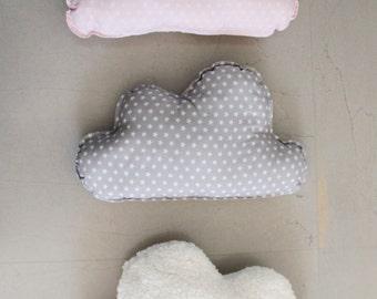 Pink Cloud Pillow, Cloud Cushion, Decorative Pillow, Pink Cloud Cushion, Home Accessory,  Kids Pillow, Nursery Pillow, Plush Toy
