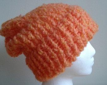 Slouchy Soft Orange Toque