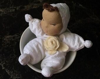 Cloth doll for Good sleep, OOAK