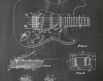 INST DOWNLOAD 5 JPG   Fender Guitar Wall Art   Fender Guitar Art   Fender Guitar Print   Guitar   Guitar Poster   Patent Print   Patent