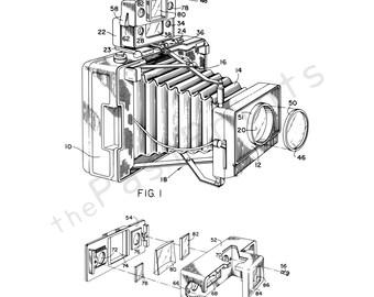 Camera Printable | Photography | Camera Art | Camera Print | Camera Poster | Camera Decor | Patent | Patent Print | Photographer Gift | Gift