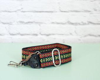 Vintage woven CAMERA STRAP