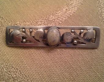 Beautiful Silver Lapel Pin