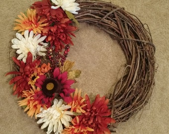 Fall Vine Wreath