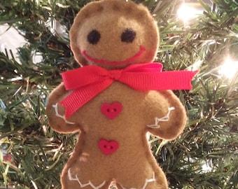 Christmas ornament Gingerbread (m04)