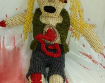 Not Your Mama's Zombie, Knitted Zombie