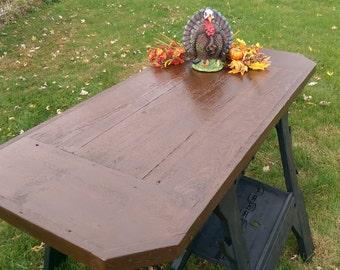 """Reclaimed Barn Wood Farm Table Top 54  5/8"""" x 24"""""""