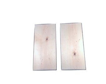 2 Blank Wood Signs - Wood Canvas - Pine Wood Planks - DIY Wooden Sign - Make Your Own - Wedding Signage - Wall Art - DIY Gift - Wall Decor