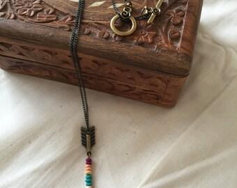 Arrow Pendant Necklace