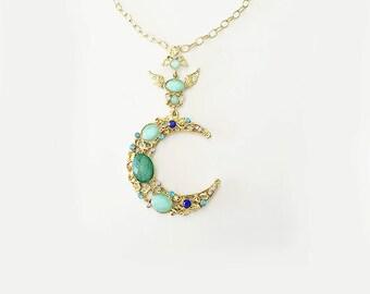 LALUNETTA Long Necklace