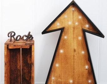 Arrow of light wooden